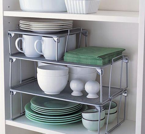 separadores de estantes horizontales para cocina