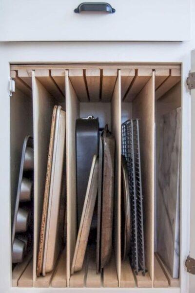 separadores verticales para muebles de cocina