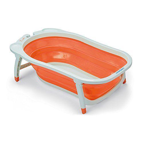Bañera para bebes plegable de plastico