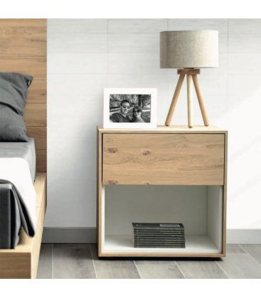 Mesa de luz moderna minimalista