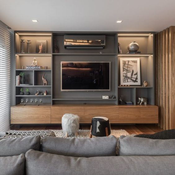 Mueble TV Cabina moderno