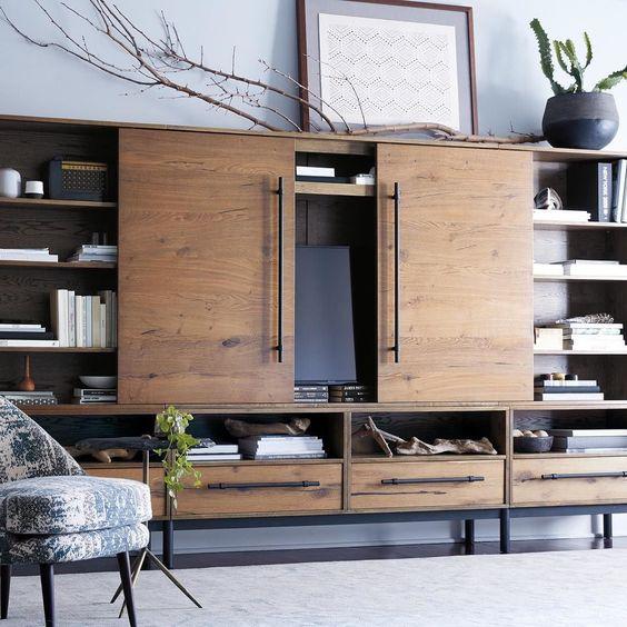 Mueble para ocultar television