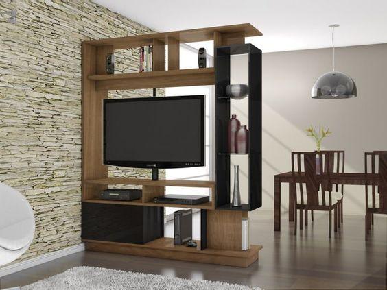 Mueble para television giratorio