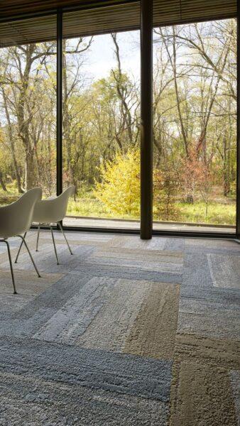 alfombra modular moderna