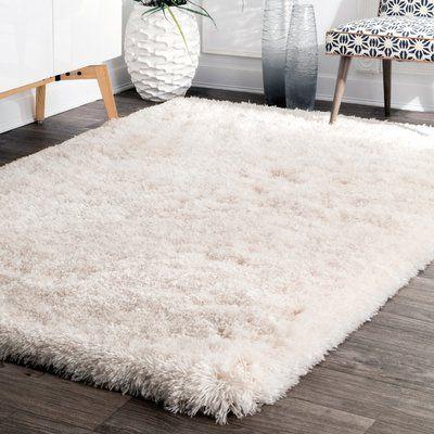 alfombra peluda para living