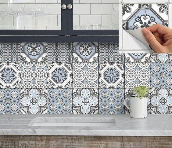 azulejos de vinilo para cocinas