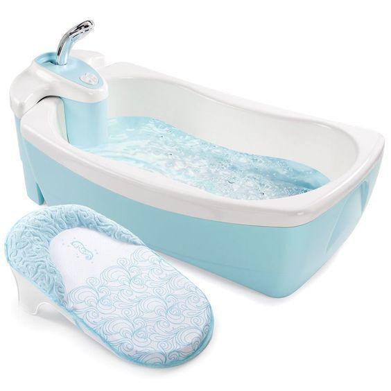 bañera con adapatador moderna