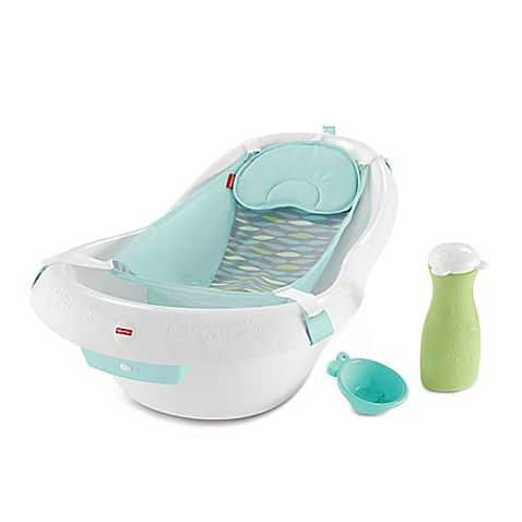 bañera pequeña para bebe con adaptador
