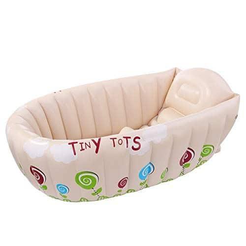 bañeras para bebes inflables