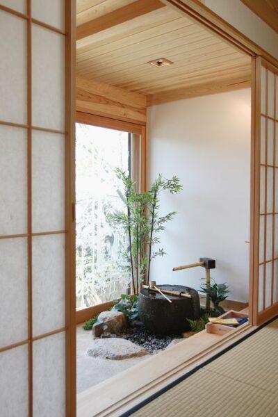 balcon con estilo japones