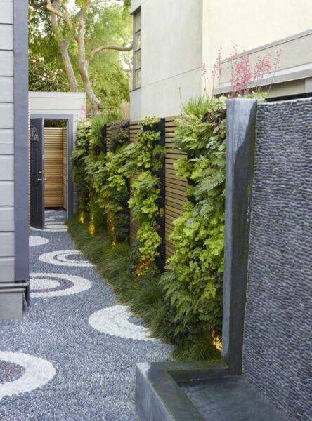 decorar muros con jardin verticales