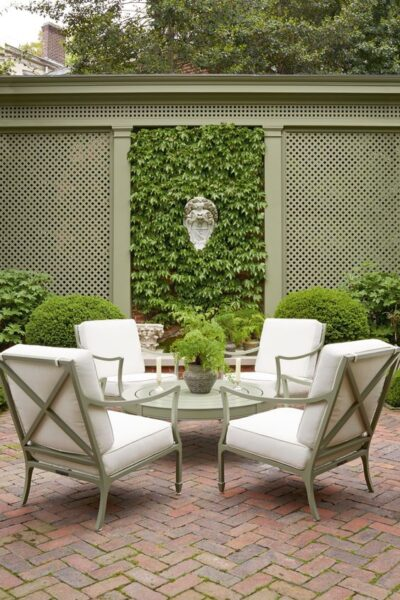 decorar pared de jardin con planta trepadora