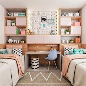 dormitorio juvenil pequeño funcional