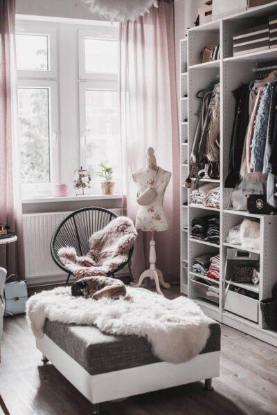 ideas para vestidor grande