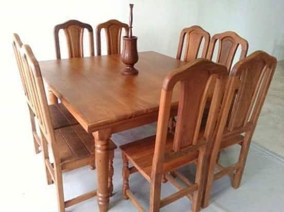 mesa de algarrobo madera para muebles