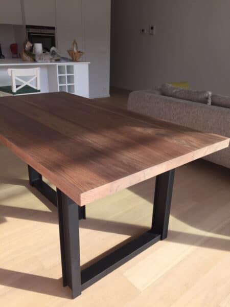 mesa de nogal madera para muebles