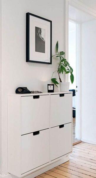 muebles funcionales pequeños para pasillos