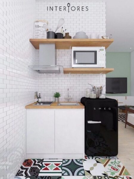 pequeña cocina kitchenette