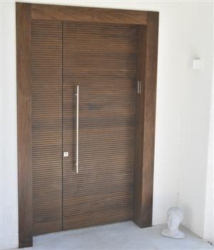 puertas de pvc modernas