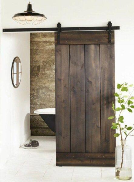 puertas estilo granero para decoracion moderna