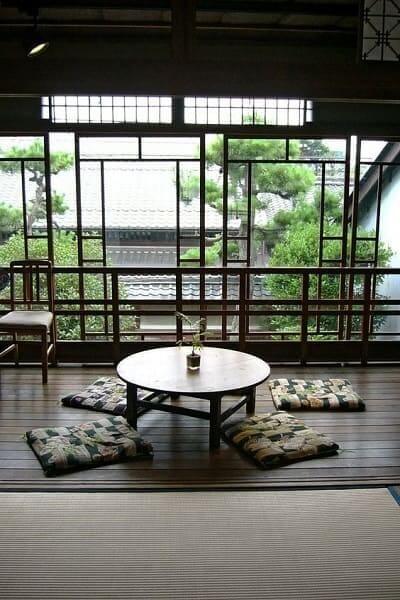 sala de estar estilo japonesa