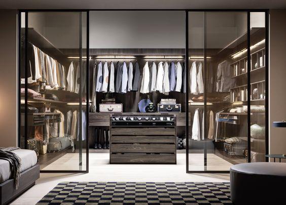 vestidor grande moderno par ahombres