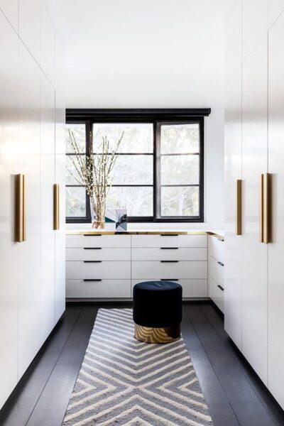vestidor grande moderno y elegante