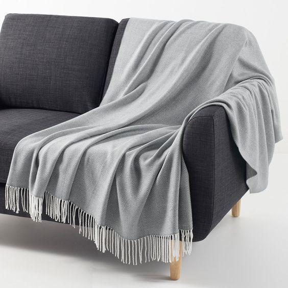Mantas de poliester para sofa