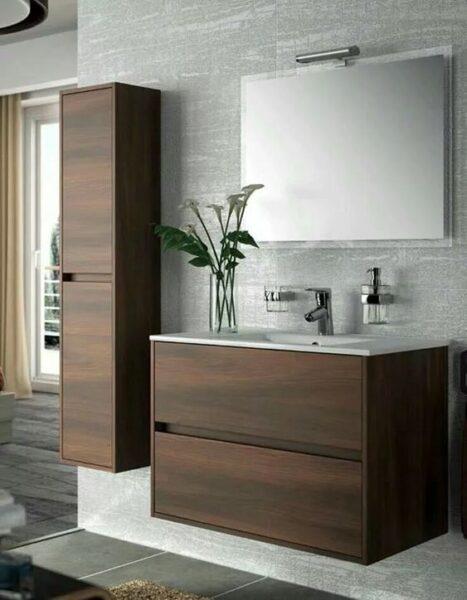 Muebles para baño madera de wengué