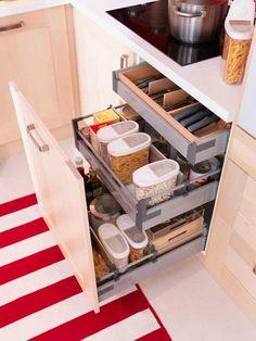 cajones para organizar cocinas