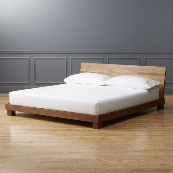 camas minimalitas modernas