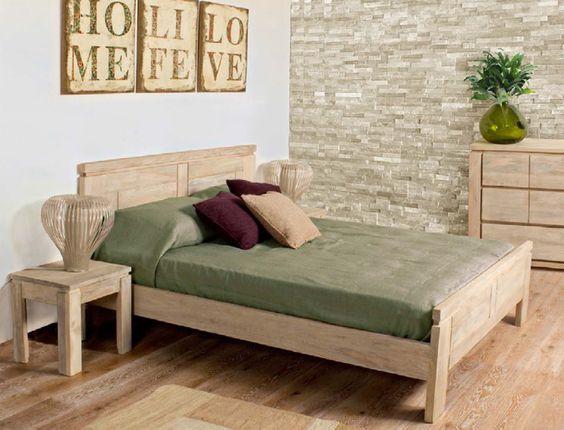 camas rusticas modernas de madera