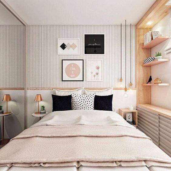 como iluminar dormitorios pequenos