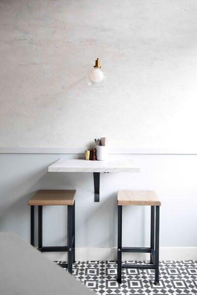 desayunadores pequeños y modernos