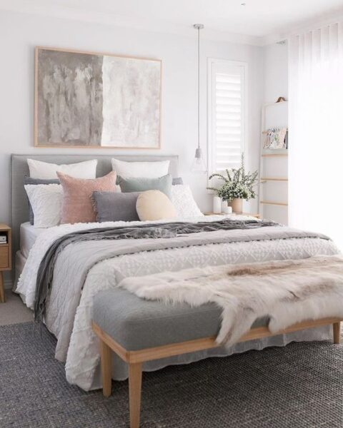 dormitorio matrimonial chico como decorarlo