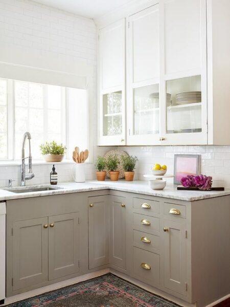 muebles de cocina de MDF Melamina