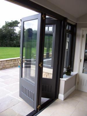 ventanal plegable para patios