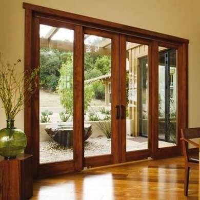 ventanales de madera