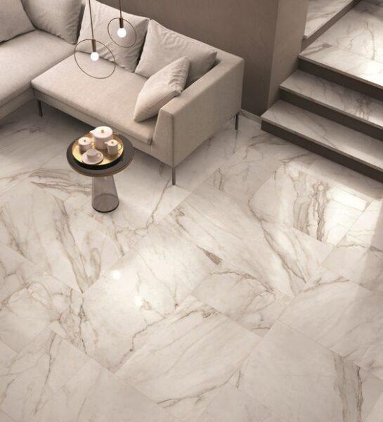 Porcelanato simil marmol