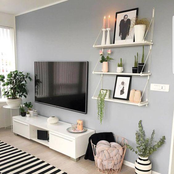 muebles para sala de estar pequena